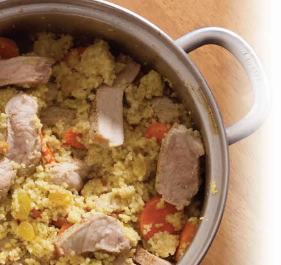 pork-couscous