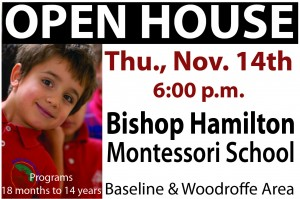 open house lawn sign