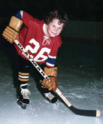 Chris Therien played for elite teams in the Canterbury Hockey Association before going on to a career in the NHL.