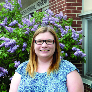 Kaitlyn McLaren, 20, achieved her  high school diploma and won several awards while attending the Frederick  Banting Secondary Alternate Program.